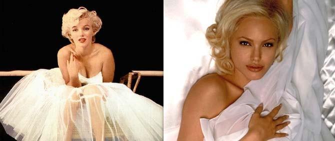 Marilyn, Angelina İle Yeniden Hayat Buluyor