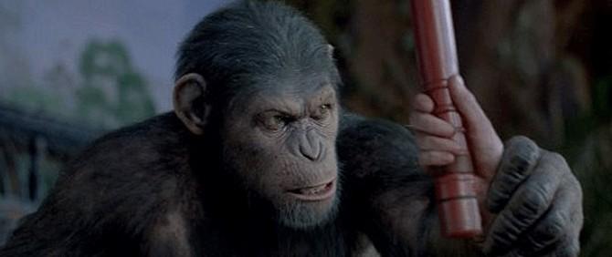 'Maymunlar Cehennemi: Başlangıç' Gişenin Zirvesinde!
