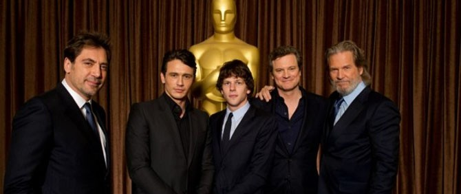 Oscar Adayları Yemekte Buluştu.