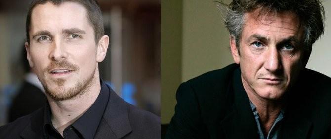 Oscarlı Oyuncular Sean Penn ve Christan Bale Aynı Filmde!