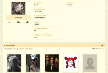 Profil Sayfası Yenilendi!