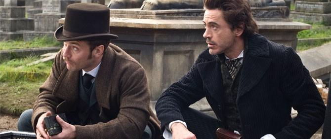 Sherlock Holmes 2'den İlk Görüntüler
