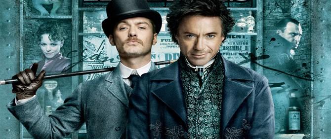 Sherlock Holmes 2'den ilk görüntüler!