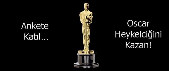 Siz sinemaseverler! Oscar heykelciği kazanmak ister misiniz?