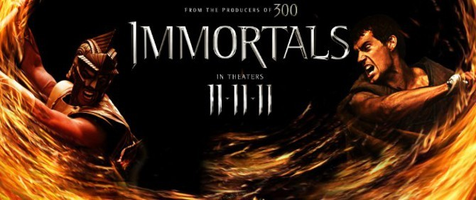 Tarsem Singh'in Immortals filminin fragmanı yayınlandı