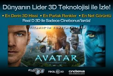 Türkiye Avatar'ı Real D 3D İle İzledi!