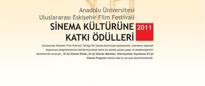 Türkiye'nin Tek Sinema Kültürüne Katkı Ödülleri Yarışması…