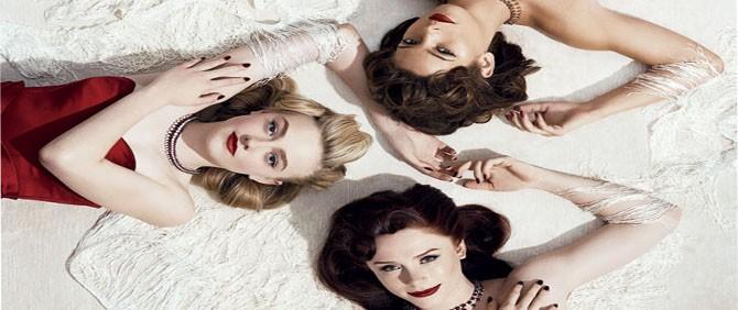 Twilight Kızlarının Yeni Fotoğrafları Yayında!