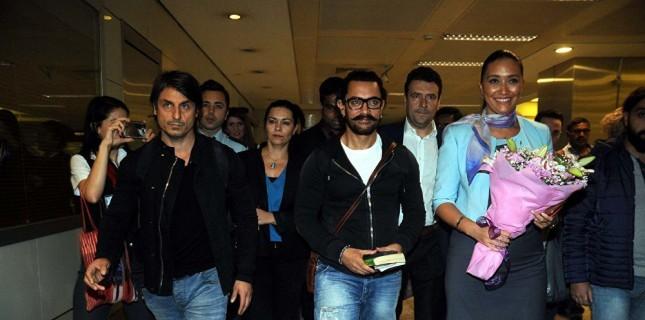 Aamir Khan İstanbul'da!