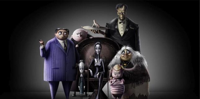 Addams Ailesi'nden Afiş Paylaşıldı