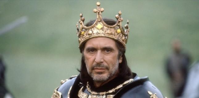 Al Pacino Shakespeare Uyarlaması 'King Lear'ın Başrolünde Yer Alacak