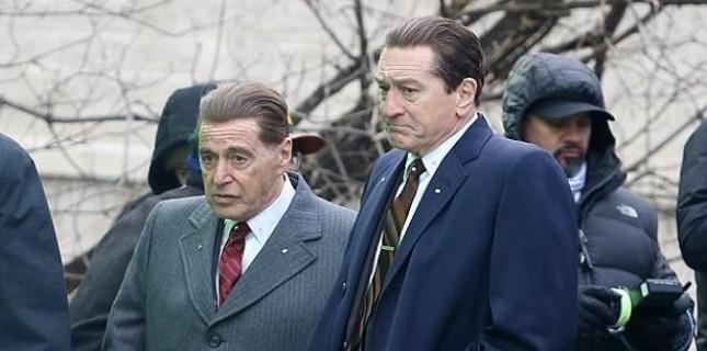 Al Pacino ve Robert De Niro 10 yıl sonra bir arada
