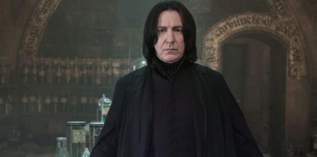 Alan Rickman Harry Potter'daki Rolünden Ötürü Hayal Kırıklığına Uğramış