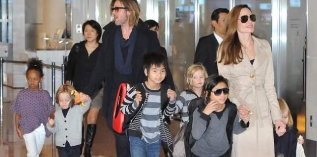 Angelina Jolie çocuklarıyla aynı filmde