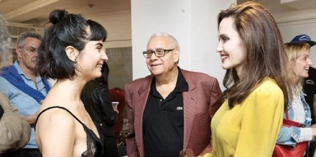 Angelina Jolie ile Tuba Büyüküstün buluştu