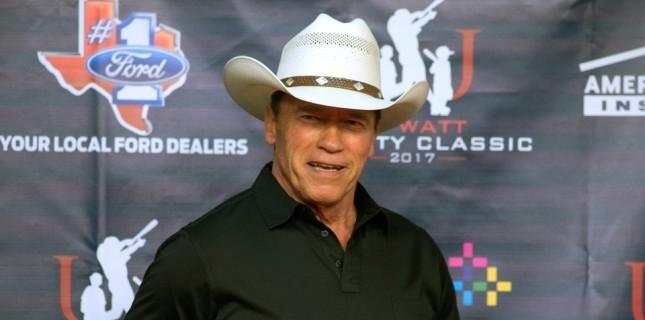 Arnold Schwarzenegger bir Western dizisinin başrolünde