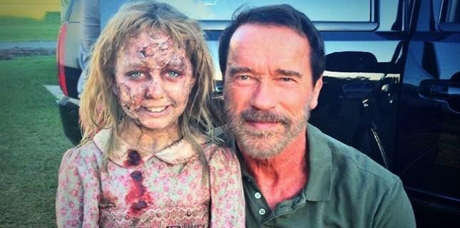 Arnold Schwarzenegger'den Korku Filmi Maggie