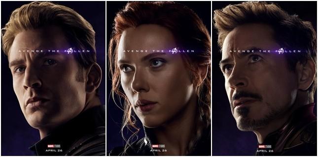 Avengers: Endgame'den Karakter Posterleri Yayınlandı