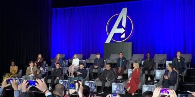 Avengers: Endgame'in Dikkat Çeken Basın Toplantısı