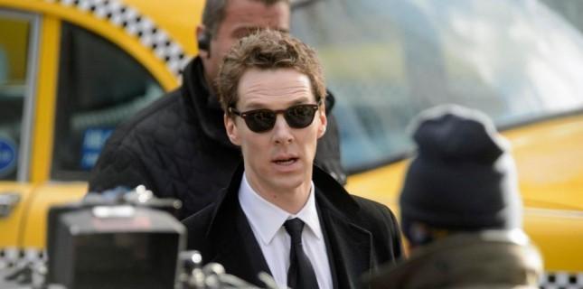 Benedict Cumberbatch, Yeni Dizisi 'Patrick Melrose'un Setinde
