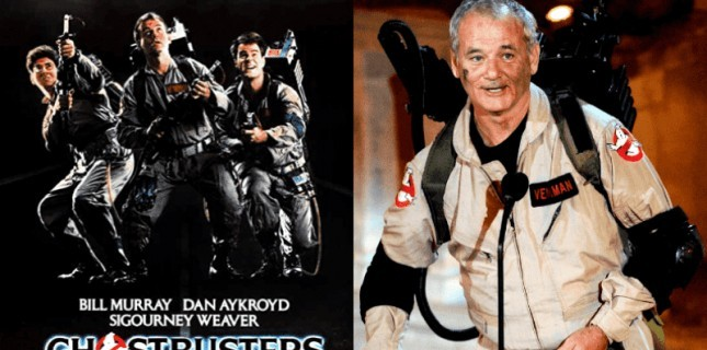 Bill Murray Ghostbusters 2020 Kadrosuna Dahil Oldu