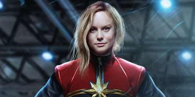 'Captain Marvel' rolüne askeri üste hazırlanıyor