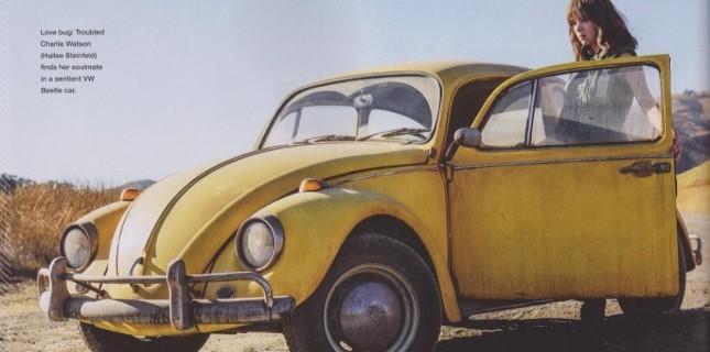Bumblebee'den ilk görsel yayınlandı!