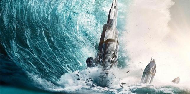 Burj Khalifa'ya Tsunami Vurursa..