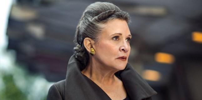 Carrie Fisher Şimdiye Kadar Yayınlanmamış Sahneleriyle 'Star Wars: Episode IX'da Yer Alacak