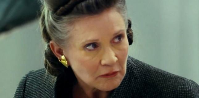 Carrie Fisher, Tacizci Yapımcıya İnek Dili Yollamış!