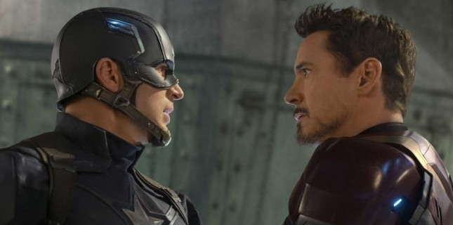 'Captain America' Rolüne Veda Eden Chris Evans'a, Robert Downey Jr.'dan Cevap Geldi