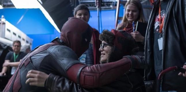 'Deadpool' kanser hastası çocukları böyle sevindirdi