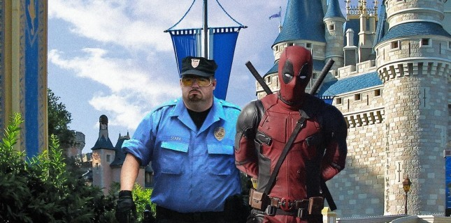 Deadpool'dan Disney göndermesi!