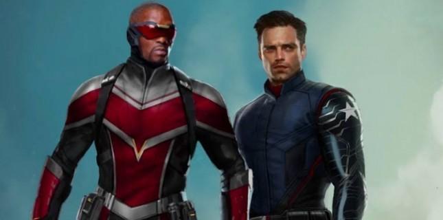 Disney+ Tarafından Marvel'e Yeni Kazandırılacak Olan The Falcon and The Winter Soldier'dan Poster