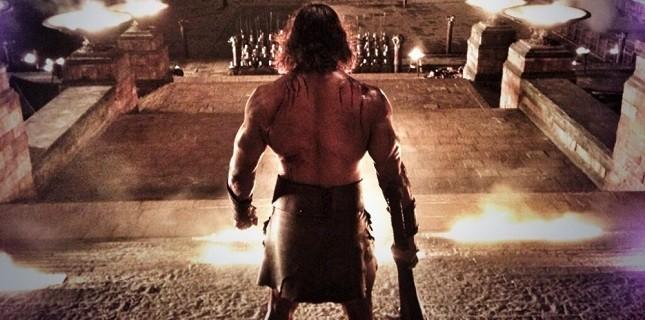 Dwayne Johnson'ın Hercules Filminden İki Yeni Fotoğraf