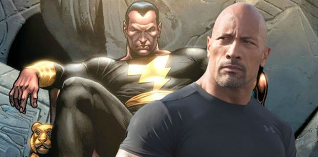 Dwayne Johnson'lı Black Adam'dan Poster Geldi!