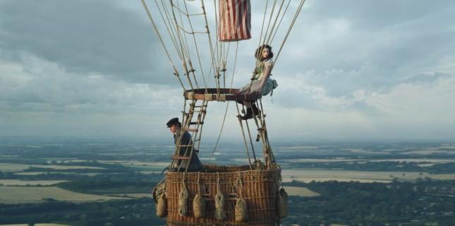 Eddie Redmayne'in Yeni Filmi The Aeronauts'tan İlk Görsel Geldi