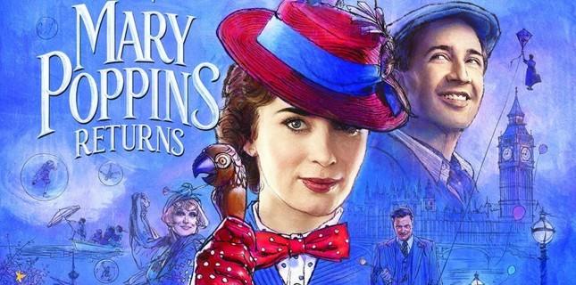 Emily Blunt'ın Başrolünde Yer Aldığı 'Mary Poppins Returns'ten Fragman Paylaşıldı
