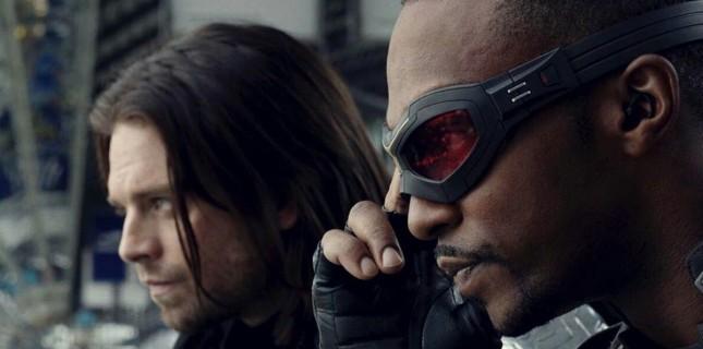 'Falcon' ve 'Winter Soldier' Dizileri Geliyor