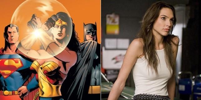 Gal Gadot Wonder Woman Rolünü İçin Hazırlanıyor