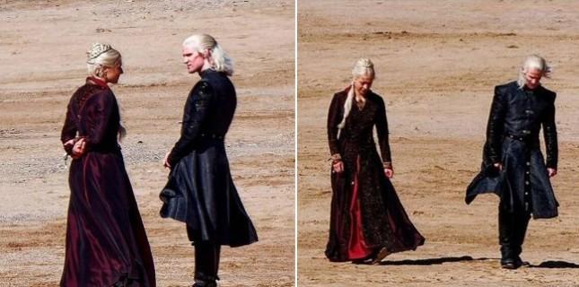 Game of Thrones Evreninde Geçen House of the Dragon'ın Çekimleri Başladı!
