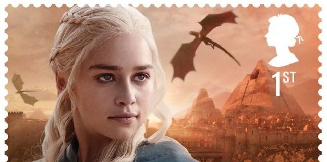 Game of Thrones karakterleri posta pulu oldu (Galeri)