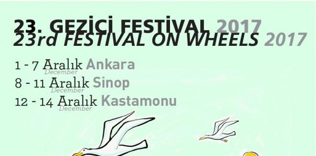 Gezici Festival 23. Kez Yola Çıkmaya Hazırlanıyor