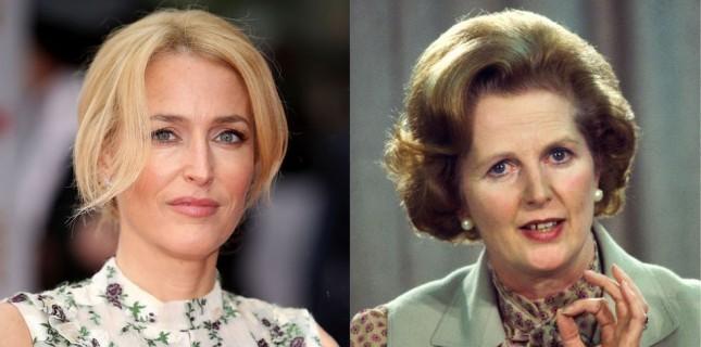 Gillian Anderson 'The Crown'ın Margaret Thatcher'ı Olacak