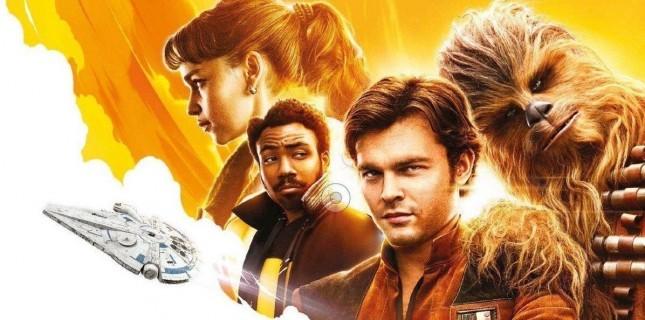 Han Solo filminin 'konsept çizimi' resmi afiş sanıldı