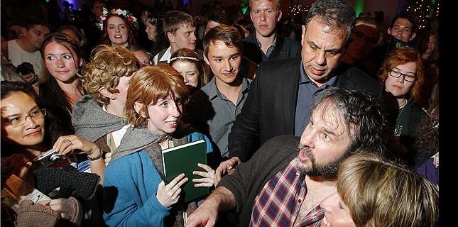 Hobbit filminin prömiyeri Yeni Zelanda'da dev partiyle yapıldı