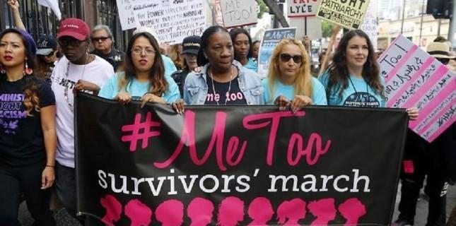 Hollywood'da cinsel tacize karşı yürüyüş