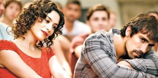 İbrahim Çelikkol ile Belçim Bilgin Aşk Filminde Buluştu