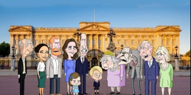 İngiliz Kraliyet Ailesi, Animasyon Dizisi Haline Geliyor