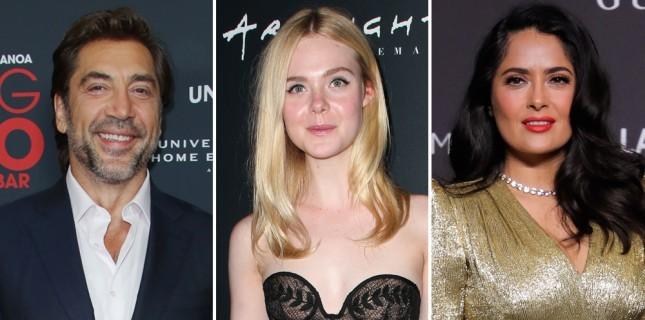 Javier Bardem, Salma Hayek ve Elle Fanning, Sally Potter'ın Yeni Filmine Katıldı